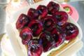 L'Osmanthe. Tartelette pistache cerise