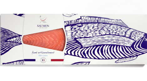 Saumon de France Fumé – 1 filet entier non tranché