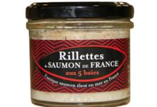 Saumon de France. Rillettes de Saumon de France aux 5 baies