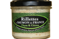 Saumon de France. Rillettes de Saumon de France thym et citron