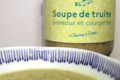 La ferme du Ciron. Soupe de Truite Poireaux et Courgettes