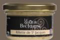 Le goût de Bretagne. Rillette de Saint-Jacques bio