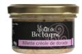 Le goût de Bretagne. Rillettes créoles de dorade