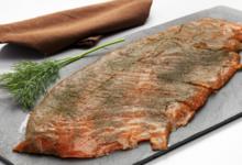 Fumage du Val de Lys. Filet de saumon gravlax