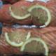 Poissonnerie Le Marlin. Rôti de saumon