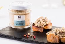 Caviar de Neuvic. Rillette d'esturgeon au caviar