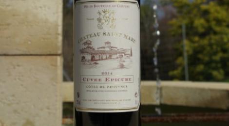 Chateau Saint Marc. Rouge Cuvée Epicure
