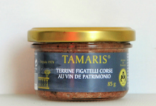 Tamaris. terrine de figatelli au vin de Patrimonio