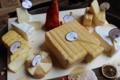 La ferme du pont des loups. Plateau de nos fromages