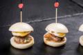 Chez Maï Maï. Mini Bao burger