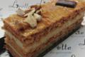 Boulangerie pâtisserie Lorette. millefeuille praliné noisettes