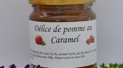 Délice de pomme au caramel