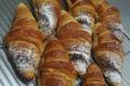 Boulangerie Léa & Gilles. Croissants à la crème de noisette