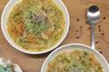 Soupe de vermicelles et légumes