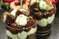 Le comptoir de Milana. Verrine chocolat pistache