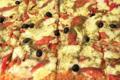 Maison Largesse. Pizza végétarienne