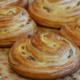 Boulangerie le Petit Mitron. Pain au raisin