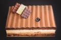 Pâtisserie Désiré. Trois chocolats