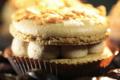Au paradis du gourmand. Le Macaron Caramel Beurre Salé