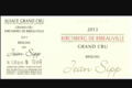 Domaine Jean Sipp. Riesling Kirchberg