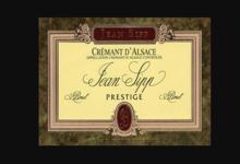 Domaine Jean Sipp. Crémant Brut Blanc de Noirs