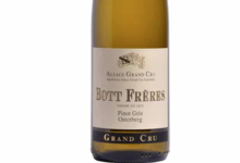 Domaine Bott Freres. Pinot Gris Grand Cru Osterberg 2010