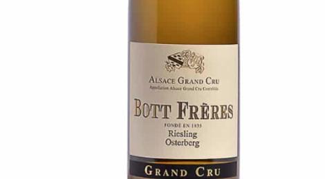 Domaine Bott Freres. Riesling Grand Cru Osterberg 2016