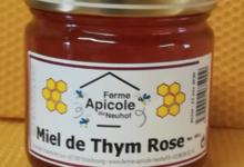 Ferme Apicole du Neuhof. Miel de thym rose
