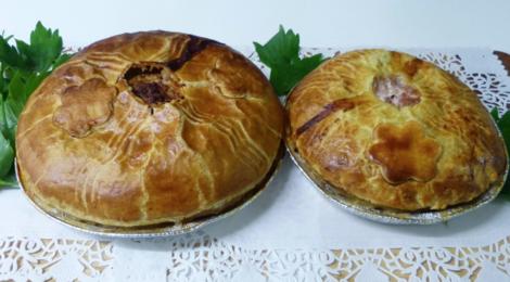 GAEC Boehmler. Tourte viande charolais-comté-épinard