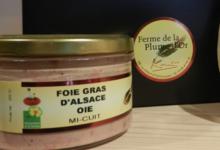 La Ferme De La Plume D'or. Foie gras d'Alsace oie mi-cuit