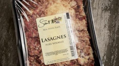 La ferme Schmitt, Lasagnes pure volaille