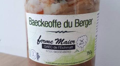 Ferme Maier. Baeckeoffe du Berger