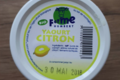 Ferme Humbert. Yaourt aromatisé citron