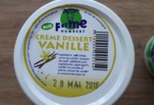Ferme Humbert. Crème dessert arômatisée Vanille