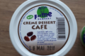 Ferme Humbert. Crème dessert café