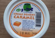 Ferme Humbert. Crème dessert caramel