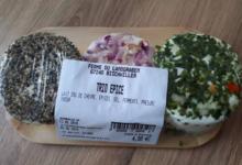 Ferme du Landgraben. Trio de fromages frais chèvre aux épices