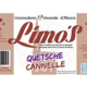 Limo's. Limonade quetsche-cannelle