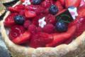 Boulangerie Durrenberger. Charlotte aux fruits rouges
