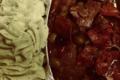 bœuf espagnol, purée de légumes
