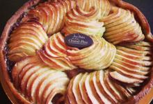 Au pain de mon grand-père. tarte aux pommes