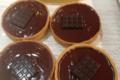 Amandine & Pauline. Tarte au chocolat