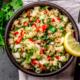 Taboulé de quinoa aux balaous marinés et wakamé