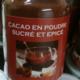 Les Suprêmes, chocolaterie artisanale. Cacao en poudre sucré et épicé