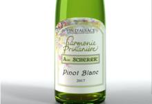 Vignoble André Scherer. Pinot blanc - Harmonie Printanière