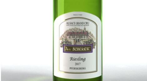 Vignoble André Scherer. riesling Grand Cru Pfersigberg