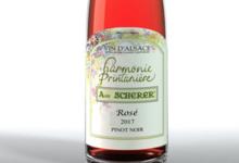 Vignoble André Scherer. Pinot noir. Rosé Harmonie Printanière