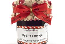 Biscuiterie La Table Alsacienne. Confiture myrtille sauvage