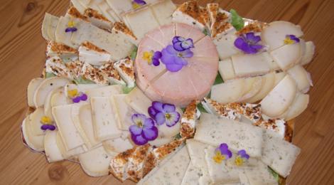 Ferme Vogelgesang. Plateau de fromage