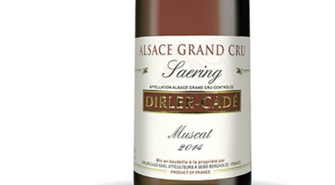 Domaine Dirler-Cadé. Muscat  Grand Cru Saering